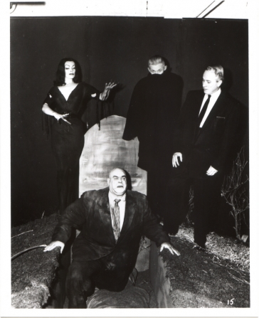 Vampira, Tom Mason, Criswell, Tor Johnson