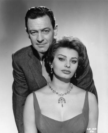 William Holden, Sophia Loren