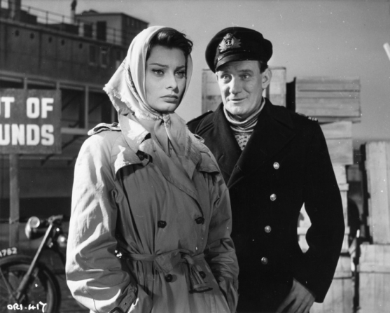 Sophia Loren, Trevor Howard