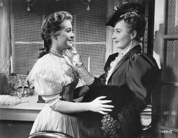 Lori Nelson, Barbara Stanwyck
