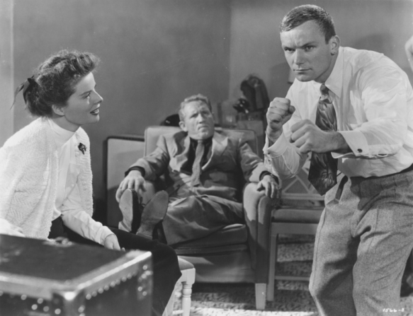 Katharine Hepburn, Spencer Tracy, Aldo Ray