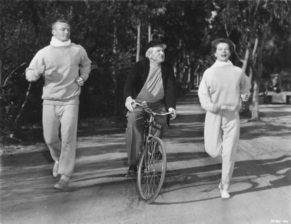 Aldo Ray, Spencer Tracy, Katharine Hepburn
