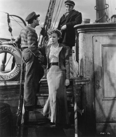 John Garfield, Ida Lupino, Edward G. Robinson