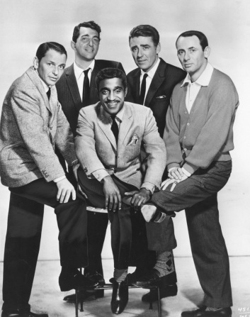 Frank Sinatra, Dean Martin, Sammy Davis Jr, Peter Lawford, Joey Bishop