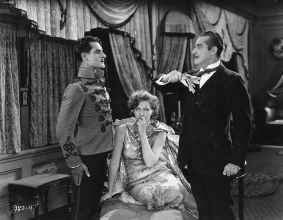 John Gilbert, Greta Garbo, Marc McDermott
