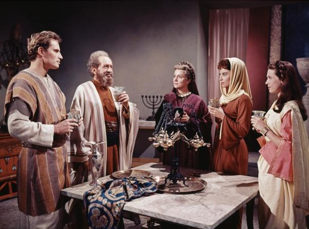 Charlton Heston, John Horsley, Martha Scott, Haya Harareet, Marina Berti