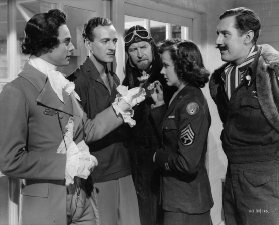 Marius Goring, David Niven, Kim Hunter