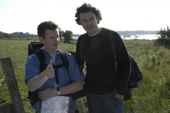 John Gordon-Sinclair, Alan Davies