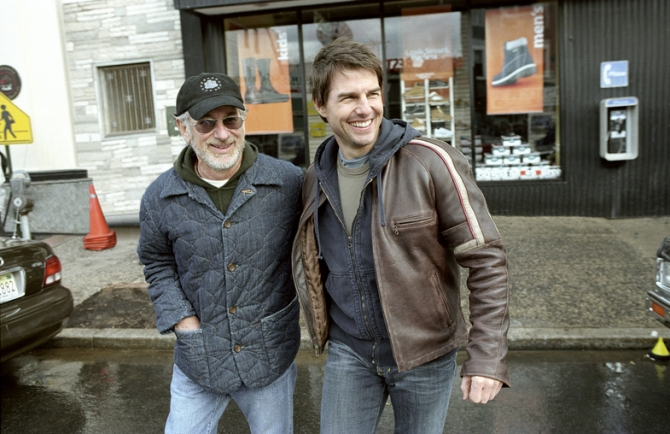 Steven Spielberg, Tom Cruise