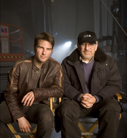 Tom Cruise, Steven Spielberg