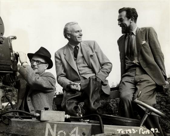 Desmond Dickinson, Laurence Olivier