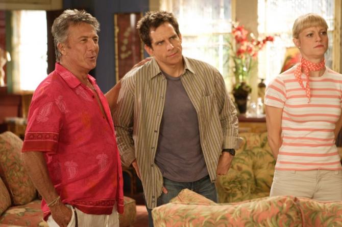 Dustin Hoffman, Ben Stiller, Teri Polo