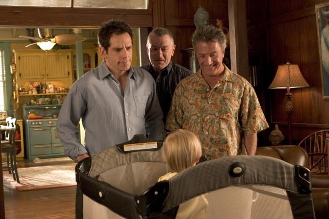 Ben Stiller, Robert De Niro, Dustin Hoffman