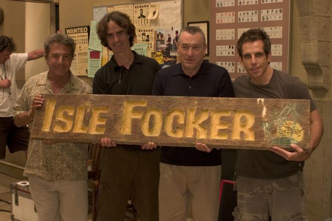 Dustin Hoffman, Robert De Niro, Ben Stiller, Jay Roach