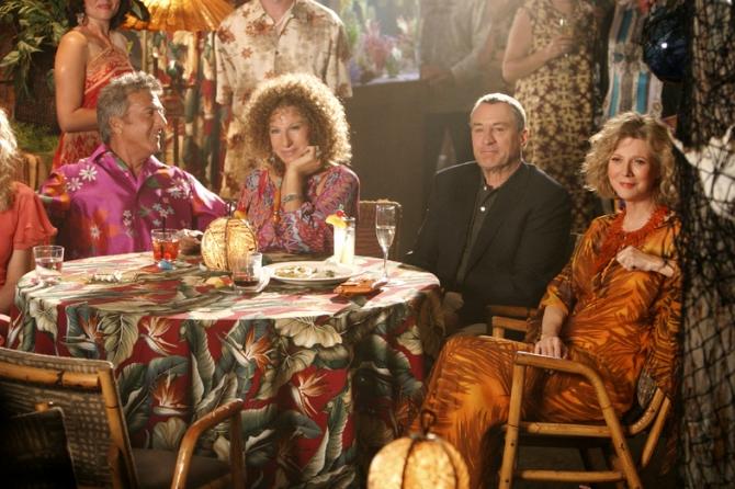Dustin Hoffman, Robert De Niro, Blythe Danner