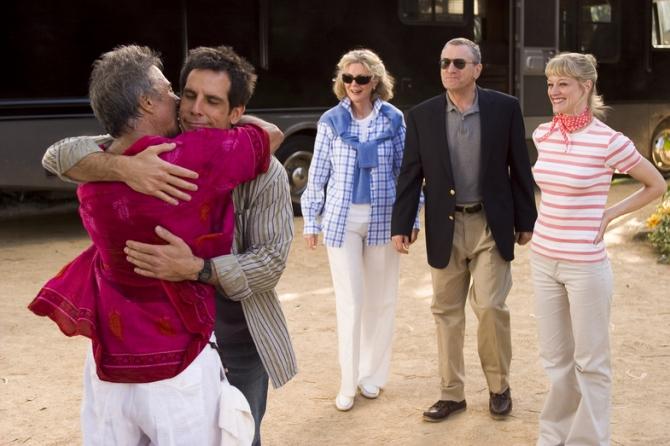 Dustin Hoffman, Ben Stiller, Blythe Danner, Robert De Niro, Teri Polo