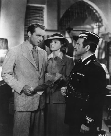 Ingrid Bergman, Paul Henreid, Claude Rains