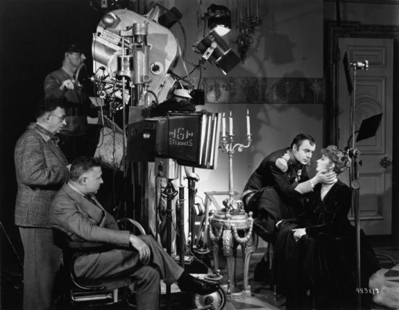 Clarence Brown, Greta Garbo, Charles Boyer