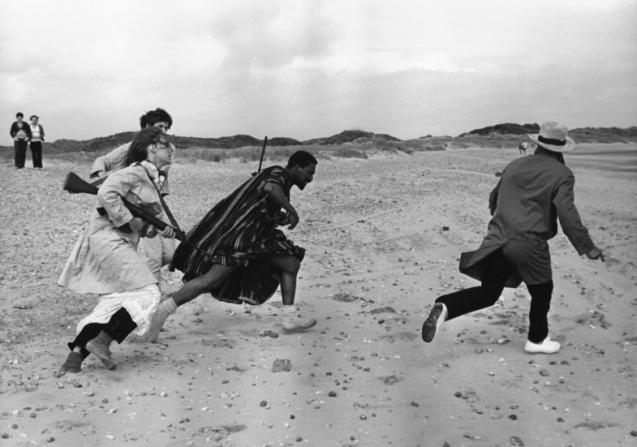 Anne Wiazemsky, Roy Stewart, Jean-Luc Godard