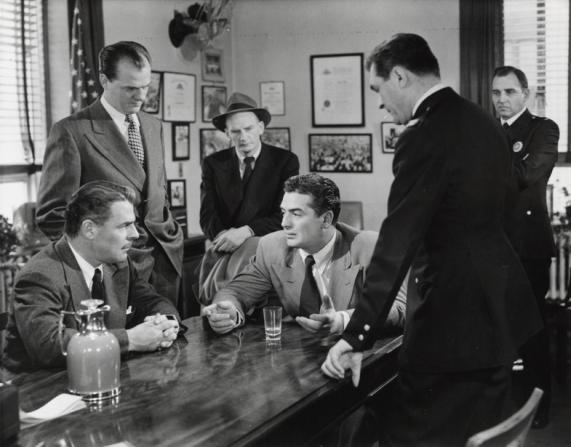 Brian Donlevy, Karl Malden, Victor Mature