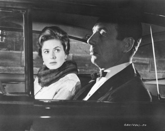 Ingrid Bergman, Yves Montand