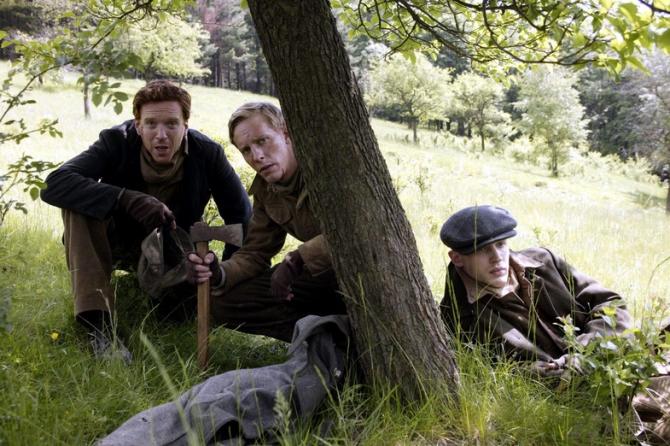Laurence Fox, Tom Hardy, Damian Lewis