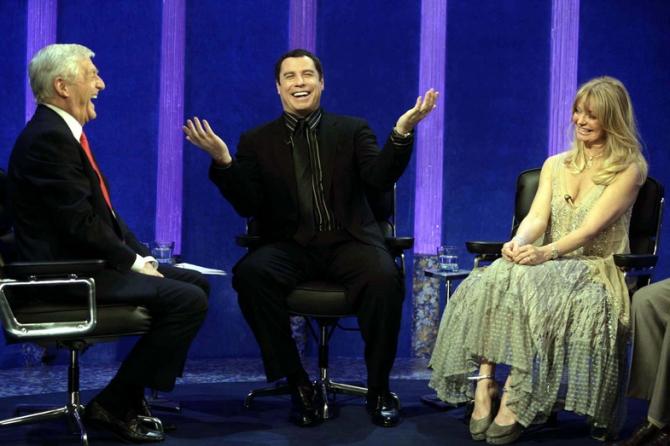 John Travolta, Goldie Hawn
