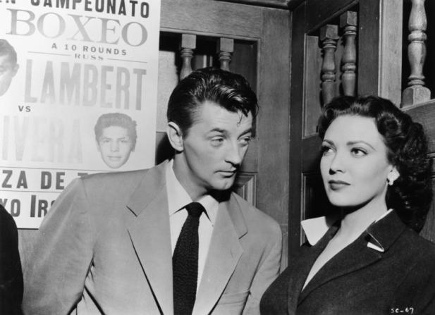 Robert Mitchum, Linda Darnell