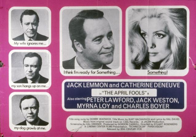 Jack Lemmon, Catherine Deneuve