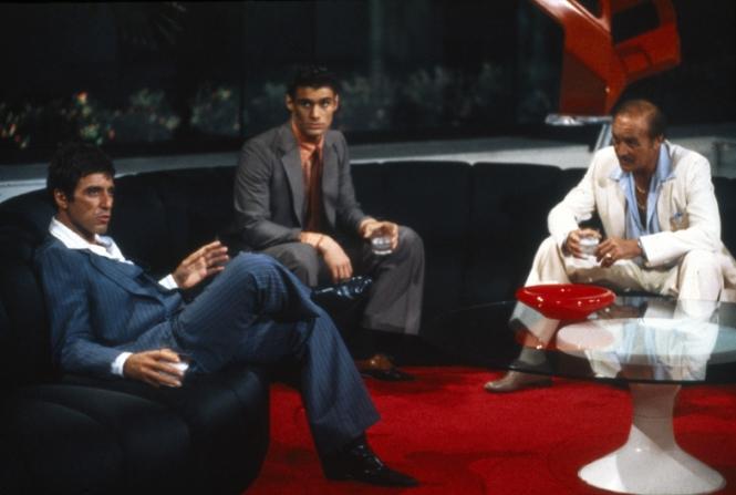 Al Pacino, Robert Loggia, Steven Bauer