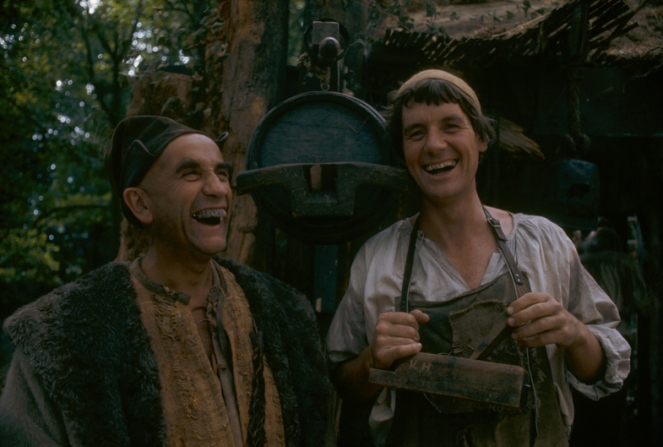 Michael Palin, Warren Mitchell