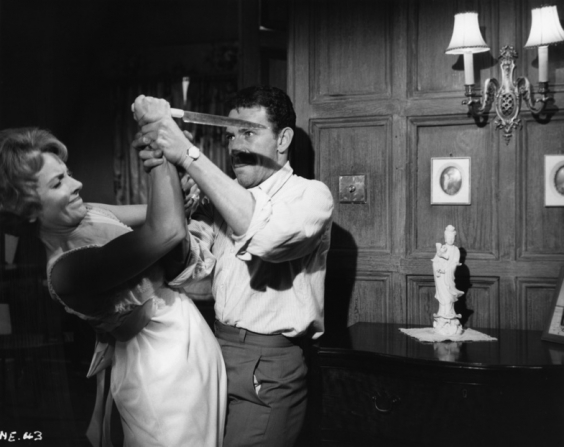 Peter Wyngarde, Janet Blair