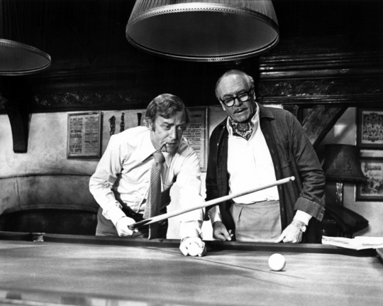 Michael Caine, Laurence Olivier