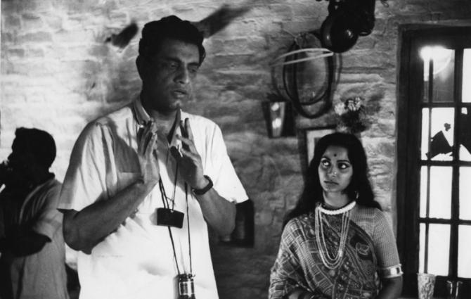 Satyajit Ray, Waheeda Rehman