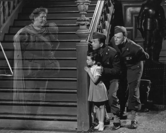Charles Laughton, Margaret O'Brien, Robert Young