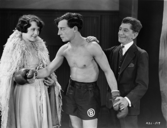 Sally O'Neil, Buster Keaton, Snitz Edwards