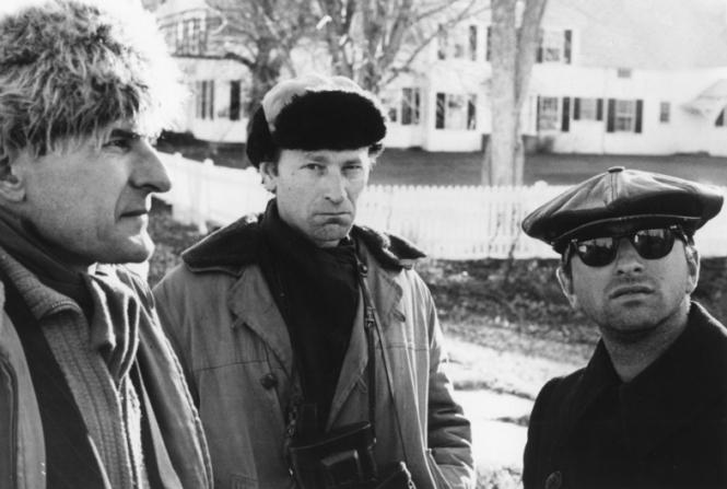 Adolfas Mekas, Jonas Mekas, David C. Stone