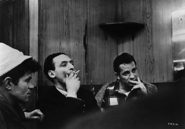 Jack Kerouac, Larry Rivers, Gregory Corso