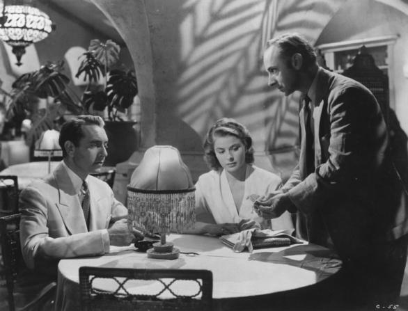 Ingrid Bergman, John Qualen, Paul Henreid
