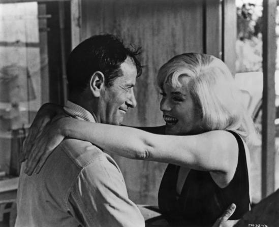 Eli Wallach, Marilyn Monroe