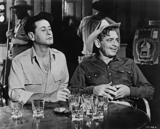 Eli Wallach, Clark Gable