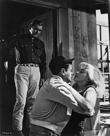 Clark Gable, Eli Wallach, Marilyn Monroe