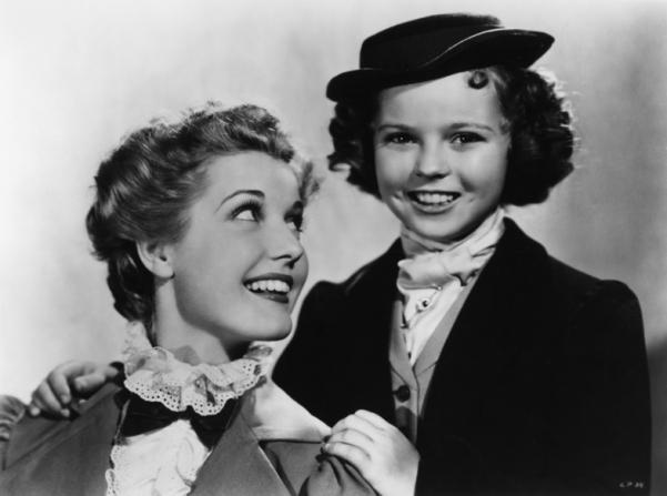 Anita Louise, Shirley Temple
