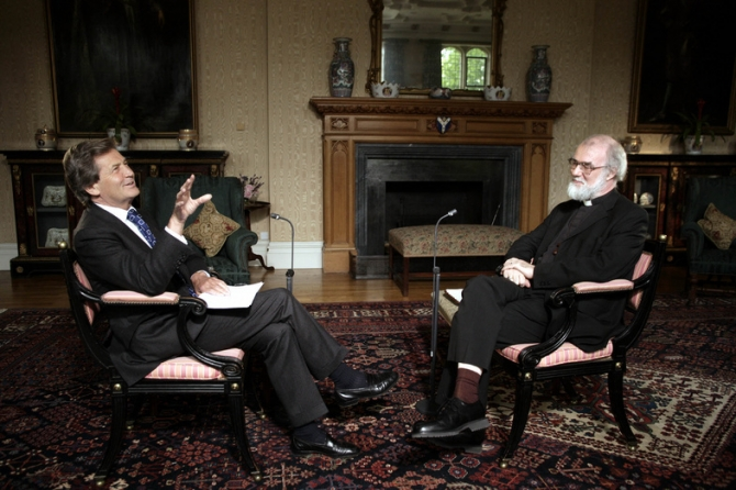 Rowan Williams, Melvyn Bragg