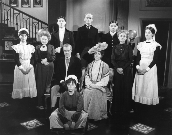 Pauline Collins, Angela Baddeley, George Innes, Gordon Jackson, Jean Marsh, David Langton, Rachel Gurney