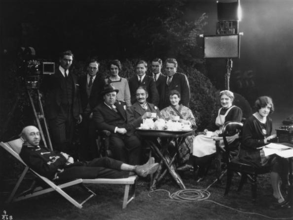 Alfred Hitchcock, Jack Cox, Jameson Thomas, Maud Gill, Antonia Brough