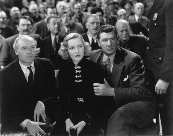 Jean Arthur, George Bancroft, John Wray