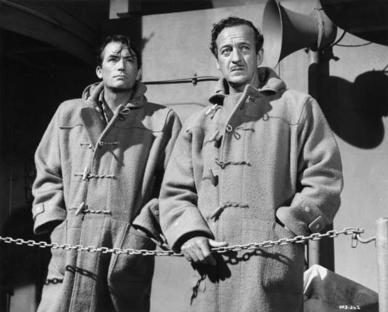 Gregory Peck, David Niven