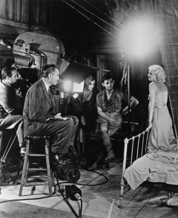 Harold Rosson, Mary Astor, Clark Gable, Jean Harlow