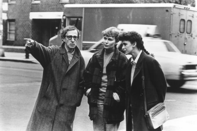 Woody Allen, Mia Farrow, Judy Davis